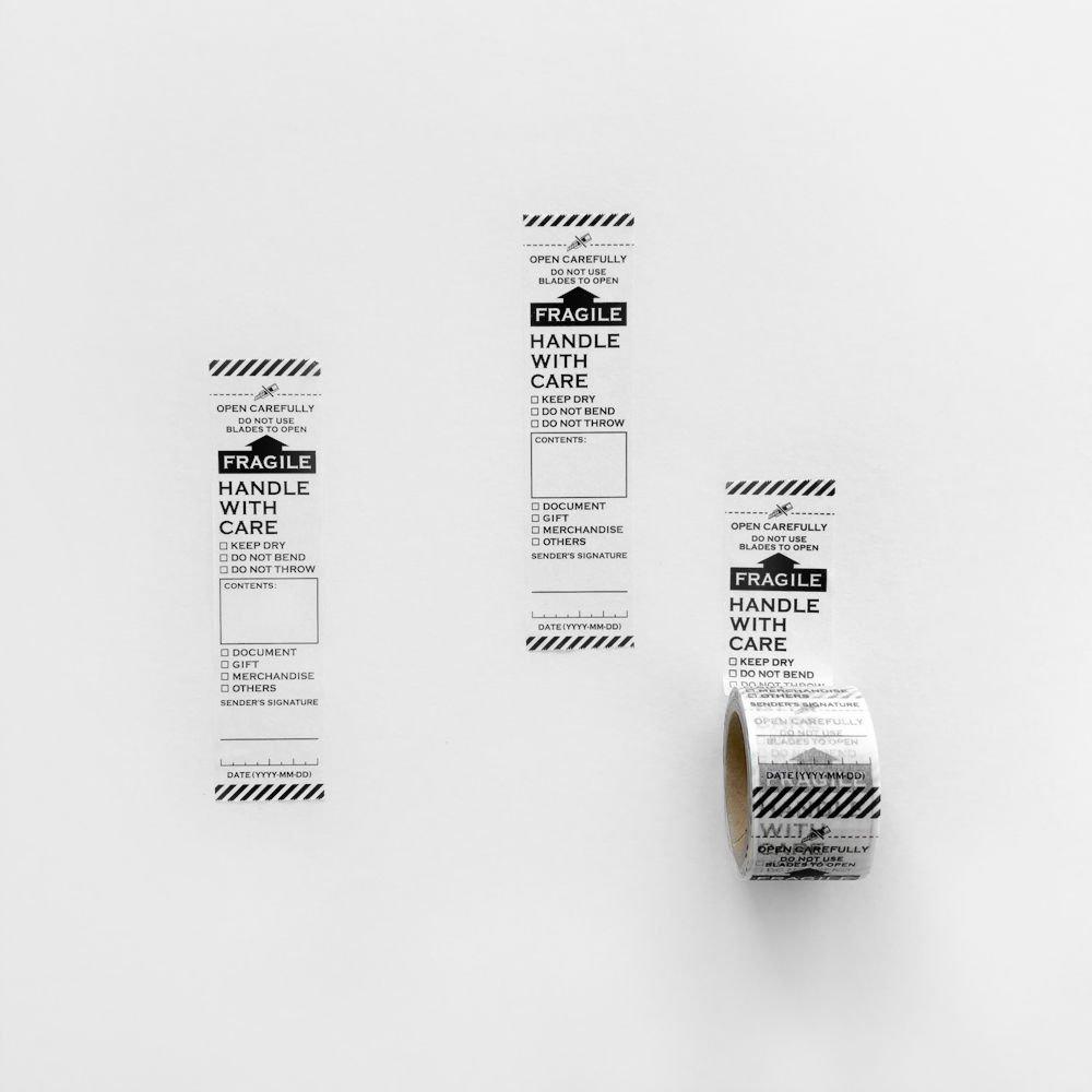 【KNOOPWORKS/クノープワークス】FRAGILE マスキングテープ