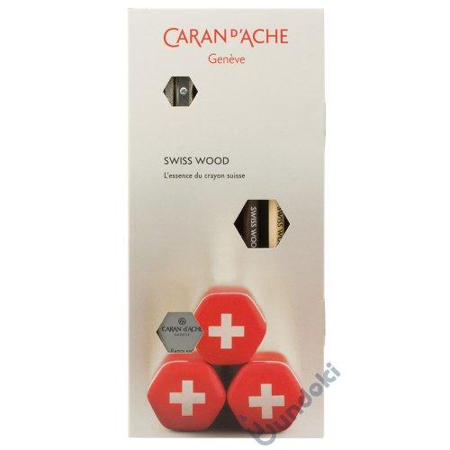 【CARAN D'ACHE/カランダッシュ】スイスウッドセット