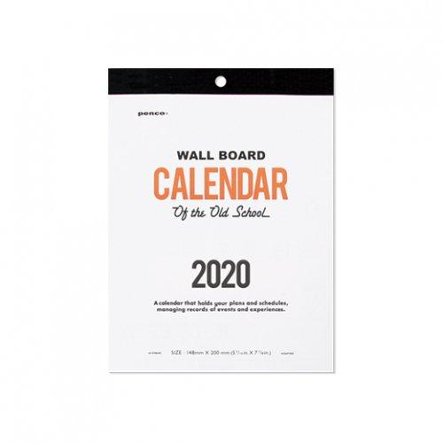 【HIGHTIDE/ハイタイド】2020年 PENCO ペンコ O/S カレンダー (A5)