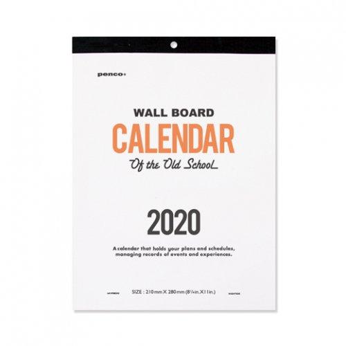 【HIGHTIDE/ハイタイド】2020年 PENCO ペンコ O/S カレンダー (A4)