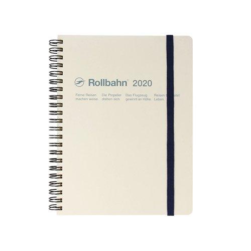 【Delfonics/デルフォニックス】2020年 ロルバーンダイアリーA5 (ホワイト)