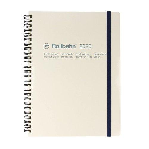 【Delfonics/デルフォニックス】2020年 ロルバーンダイアリーXL (ホワイト)
