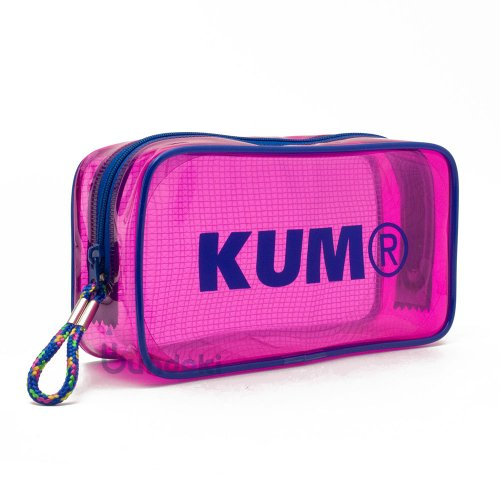 【KUM/クム】クリアペンポーチ (ピンク)