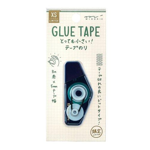 【MIDORI/ミドリ】XS テープのり (紺)