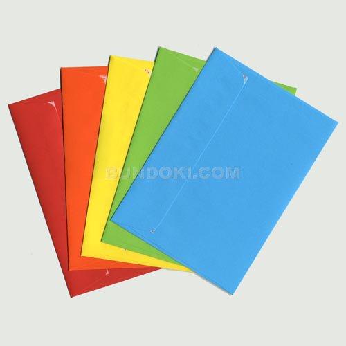 【ELCO/エルコ】Office Color カラー 封筒 C6 20枚入(5色×各4枚)