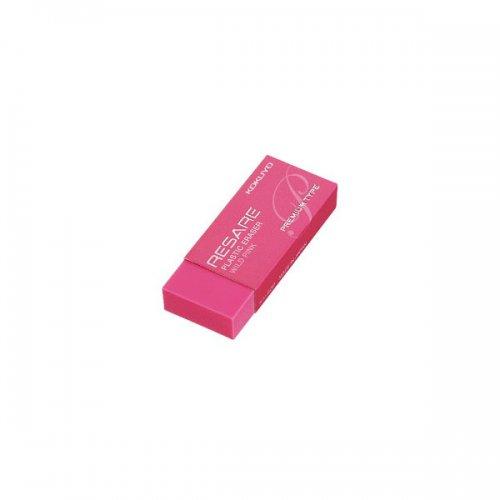 【KOKUYO/コクヨ】プラスチック消しゴム・リサーレ プレミアムタイプ (ピンク)