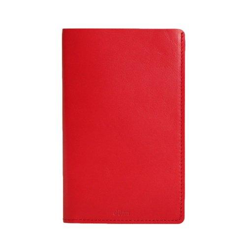 【dunn/デュン】mini notecover/ノートカバー (レッド)