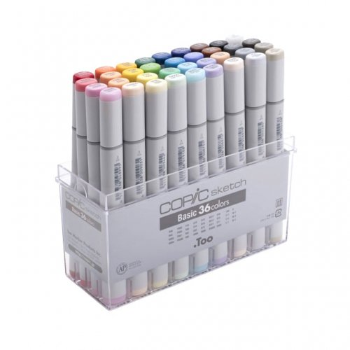 【.TOO】COPIC SKETCH/コピックスケッチ ベーシック36色セット