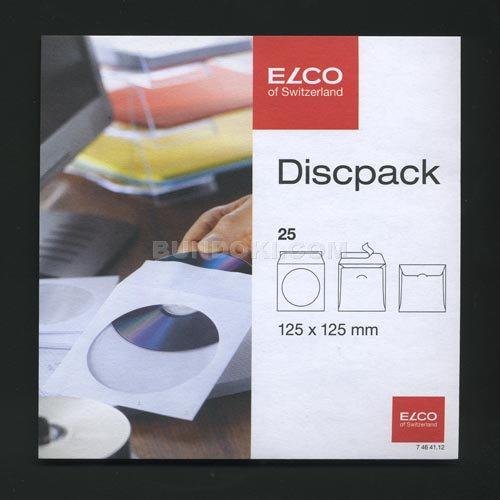 【ELCO/エルコ】Office Discpack CD封筒(25枚入り)ホワイト