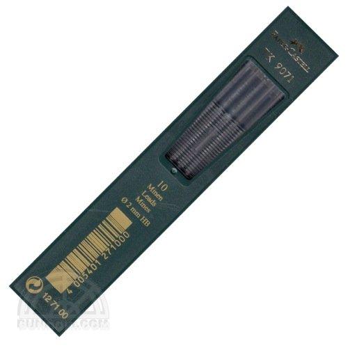 【FABER-CASTELL/ファーバーカステル】2ミリ芯ホルダー用替え芯 TK 9071(硬度:HB)