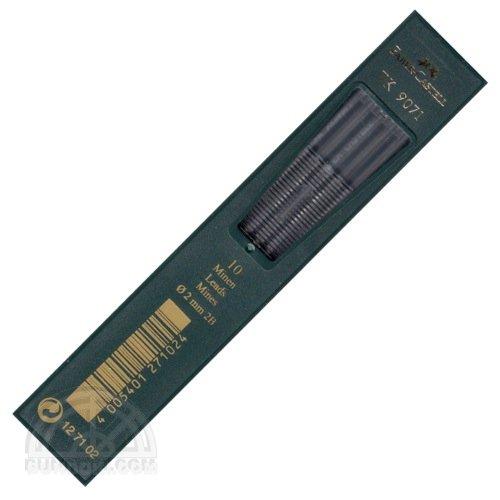 【FABER-CASTELL/ファーバーカステル】2ミリ芯ホルダー用替え芯 TK 9071(硬度:2B)