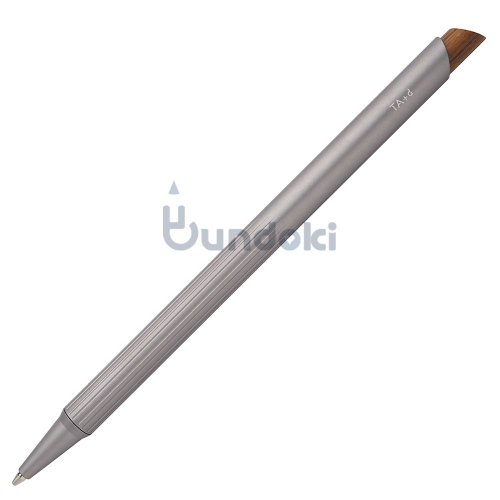 【TreAsia Design/TA+d】FIBER / Bamboo Mechanical Pencil (ガンメタル)