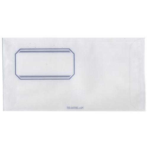 【倉敷意匠】トレーシングペーパー洋封筒 5枚セット(ラベル)