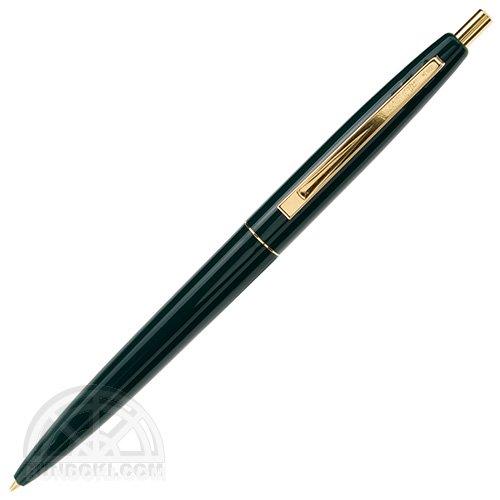 【BIC/ビック】クリックゴールドボールペン(ダークグリーン)