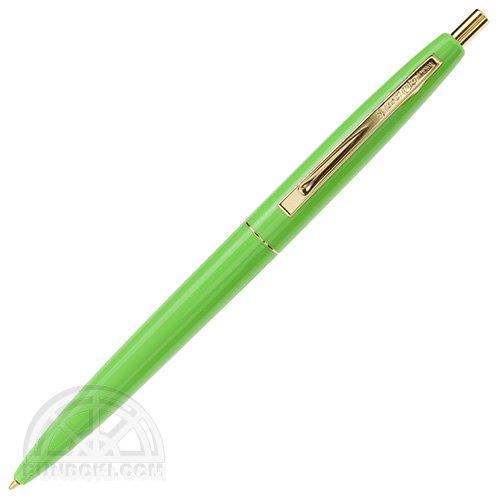 【BIC/ビック】クリックゴールドボールペン(アップルグリーン)