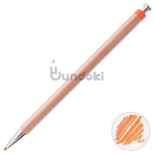 【北星鉛筆】大人の色鉛筆 ・単品 (橙)