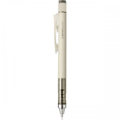 【TOMBOW/トンボ鉛筆】MONO graph/モノグラフ・シャープペンシル限定 (0.5mm/スモーキーホワイト)
