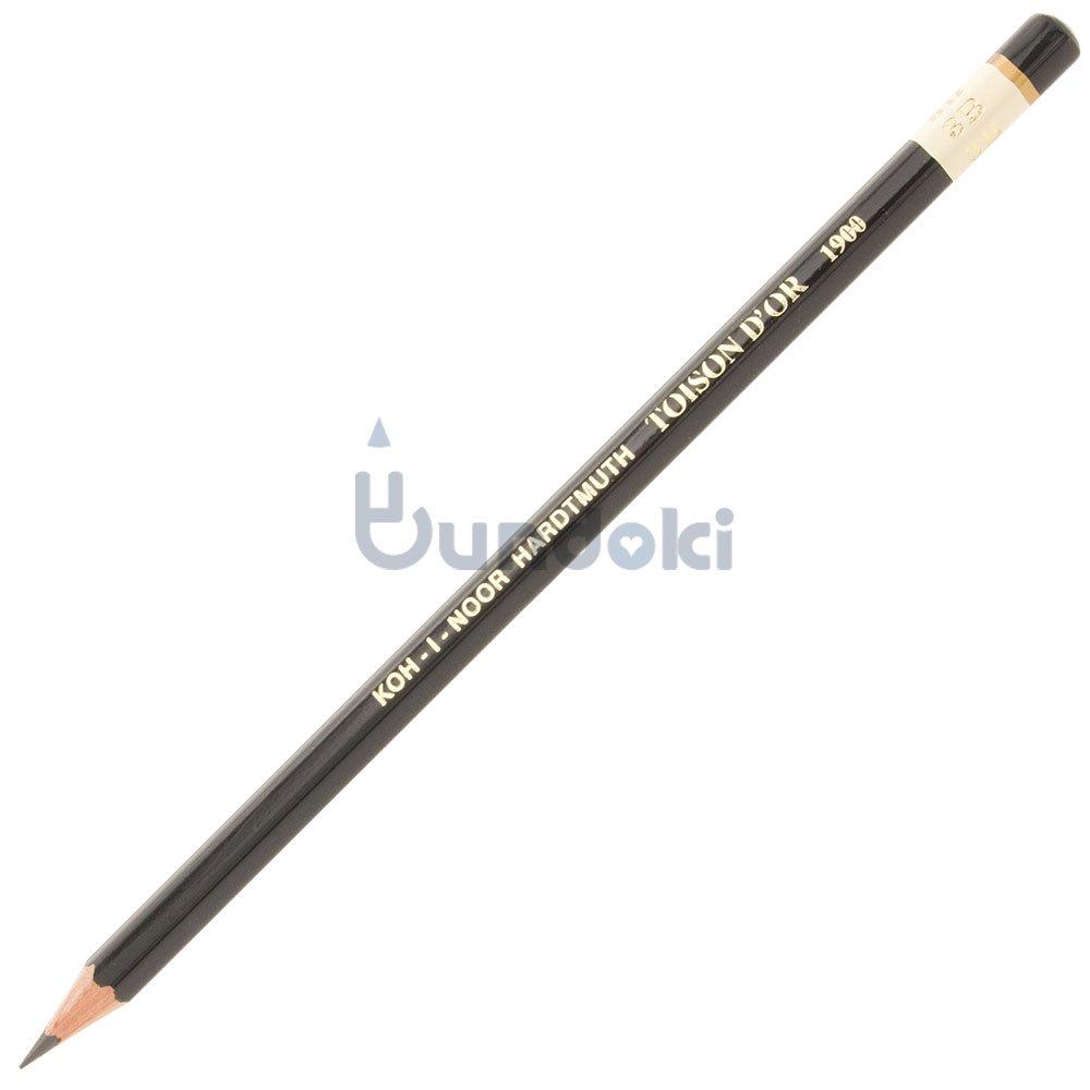 【KOH-I-NOOR/コヒノール】TOISON D'OR 1900番鉛筆(硬度:3B)