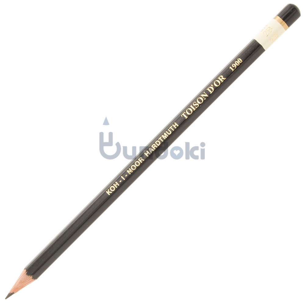 【KOH-I-NOOR/コヒノール】TOISON D'OR 1900番鉛筆(硬度:2B)