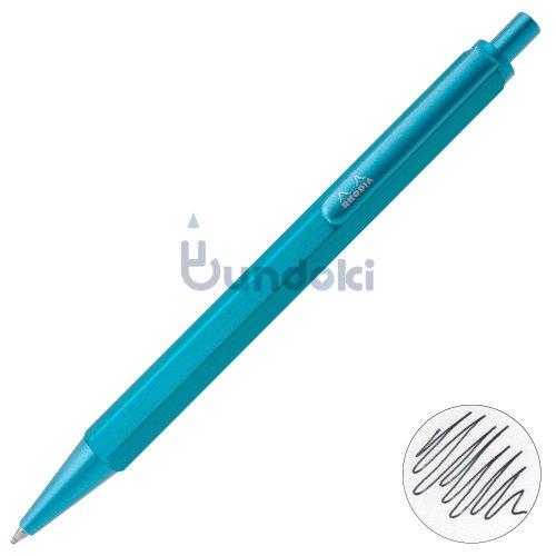 【Rhodia/ロディア】scRipt/スクリプト ボールペン・限定色 (ターコイズ)