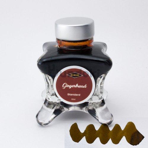 【Diamine/ダイアミン】ブルーエディション インク (Gingerbread)