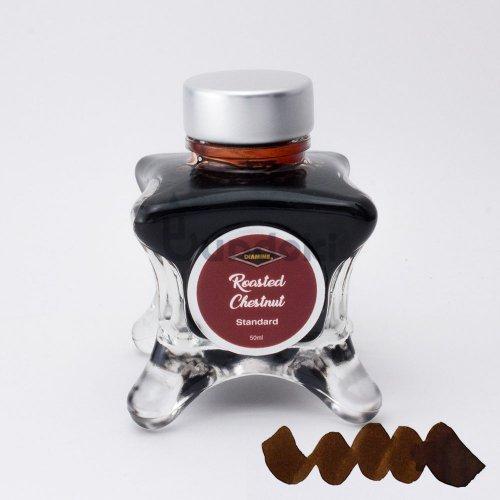 【Diamine/ダイアミン】ブルーエディション インク (Roasted Chestnut)