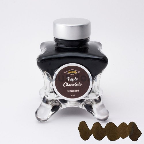 【Diamine/ダイアミン】ブルーエディション インク (Triple Chocolate)