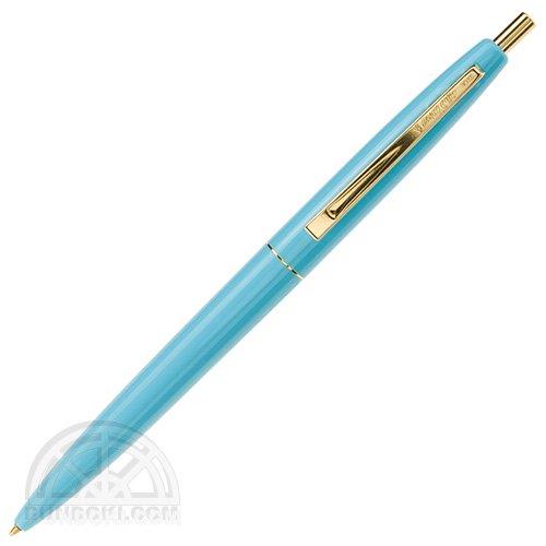 【BIC/ビック】クリックゴールドボールペン(アイスブルー)