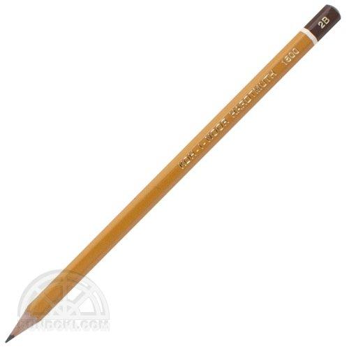 【KOH-I-NOOR/コヒノール】1500番鉛筆(硬度:2B)