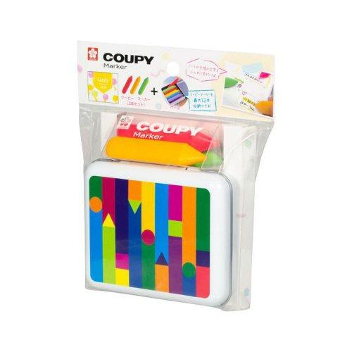 【SAKURA/サクラ】クーピーマーカー キャンディカラーケースセット