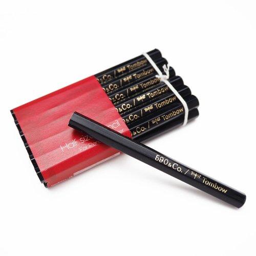 【590&Co./トンボ鉛筆】鉛筆補助軸用ハーフサイズ鉛筆