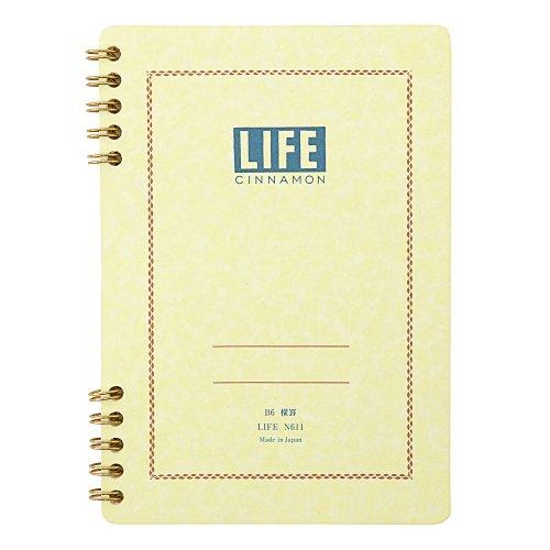 【LIFE/ライフ】Cinnamon/シナモン(B6/横罫)