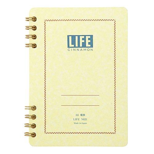 【LIFE/ライフ】Cinnamon/シナモン(A6/横罫)