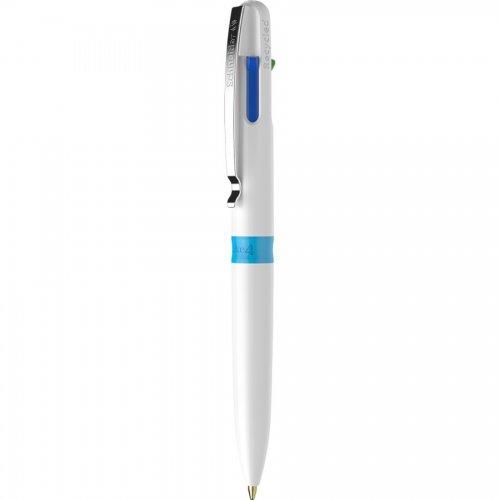 【SCHNEIDER/シュナイダー】4色ボールペン Take 4 (ホワイト)