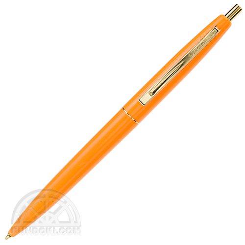 【BIC/ビック】クリックゴールドボールペン(蛍光オレンジ)