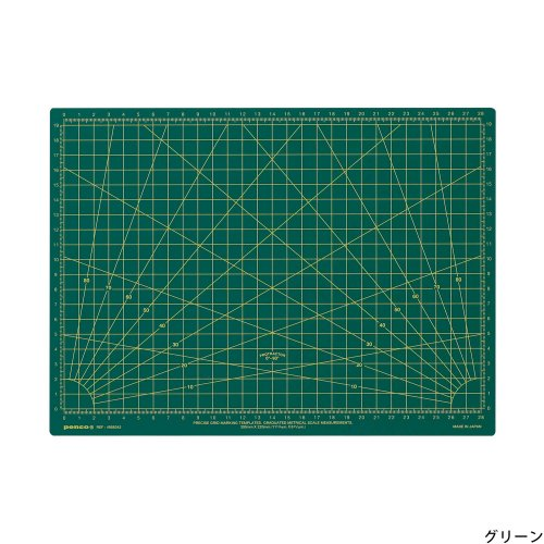 【HIGHTIDE/ハイタイド】ペンコ オペレーティングマット A4 (グリーン)