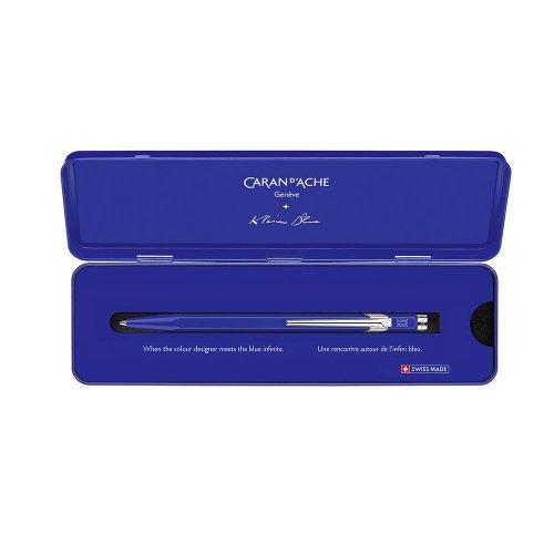 【CARAN D'ACHE/カランダッシュ】カランダッシュ+クライン・ブルー 849ボールペン