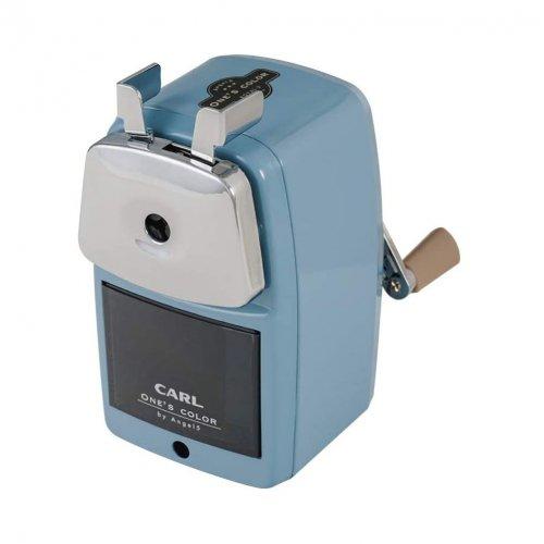【CARL/カール事務機】エンゼル5 ロイヤル3 鉛筆削り器(ライトブルー)