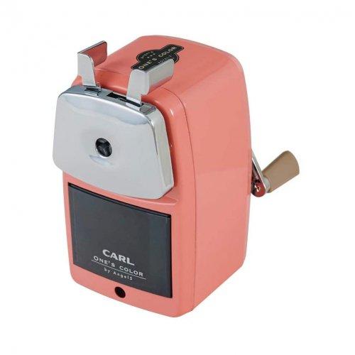 【CARL/カール事務機】エンゼル5 ロイヤル3 鉛筆削り器(ピンク)