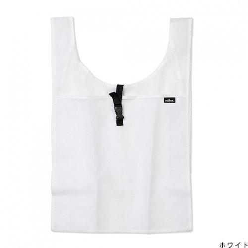 【HIGHTIDE/ハイタイド】ネーエ ショッパー /エコバッグ (ホワイト)