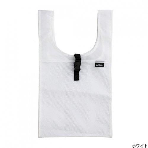【HIGHTIDE/ハイタイド】ネーエ ショッパーS /エコバッグ (ホワイト)