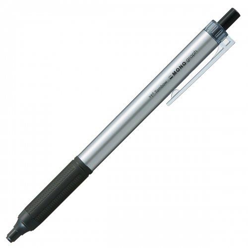 【TOMBOW/トンボ鉛筆】モノグラフライト・シルバー (0.5mm/黒)