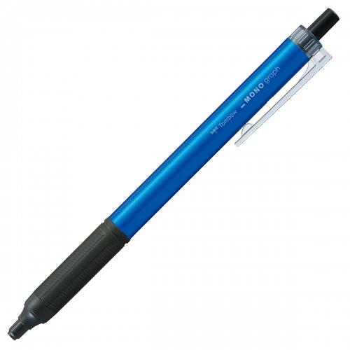 【TOMBOW/トンボ鉛筆】モノグラフライト・ライトブルー (0.5mm/黒)