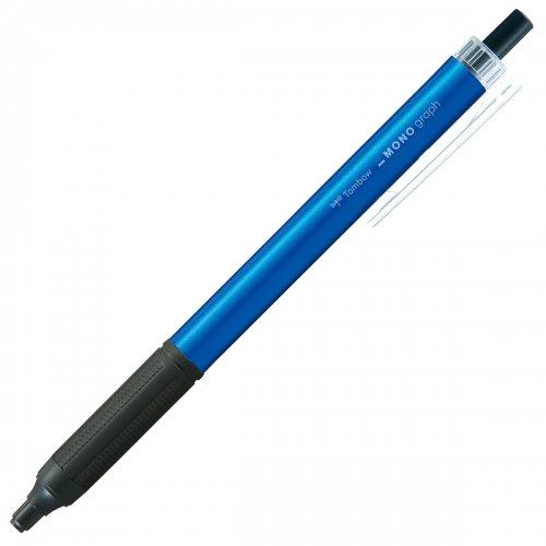 【TOMBOW/トンボ鉛筆】モノグラフライト・ライトブルー (0.38mm/黒)