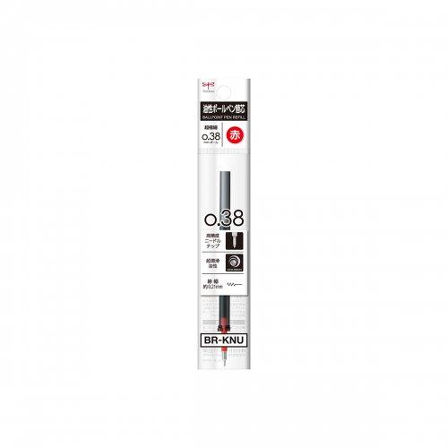 【TOMBOW/トンボ鉛筆】モノグラフライト用リフィル/油性ボールペン替芯 KNE (0.38mm/赤)