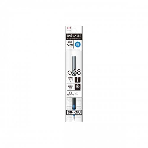 【TOMBOW/トンボ鉛筆】モノグラフライト用リフィル/油性ボールペン替芯 KNE (0.38mm/青)