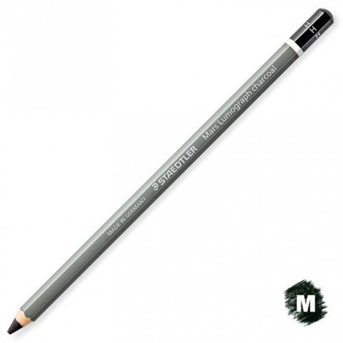 【STAEDTLER/ステッドラー】マルスルモグラフ チャコール鉛筆 (M/ミディアム)