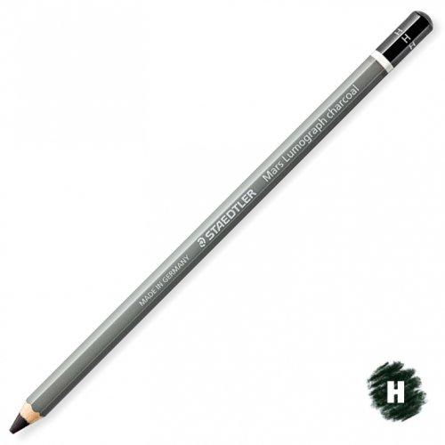 【STAEDTLER/ステッドラー】マルスルモグラフ チャコール鉛筆 (H/ハード)