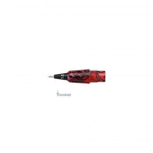 【Fluid Writing/フルーイドライティング】111ガイア用ペン先交換ユニット (レッドブラック/1.0mm)