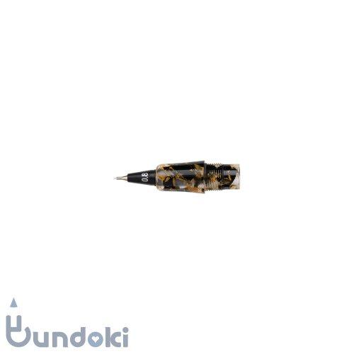 【Fluid Writing/フルーイドライティング】111ガイア用ペン先交換ユニット (オレンジブラック/0.8mm)